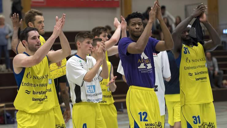 Die Starwings-Basketballer haben sportlich die Erwartungen übertroffen.
