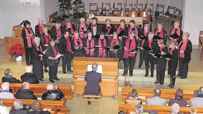 Der Grenchner Frauenchor anlässlich seines Konzertes im November 2008