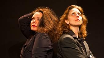 Nicole Knuth (links) und Olga Tucek geben «Heimat».