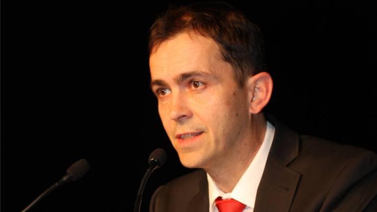 Stefan Scherer, der Präsident des Verwaltungsrates.
