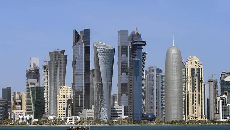 Katars Hauptstadt Doha: Hier treffen sich zur Zeit die Ölminister aus Russland, Saudi-Arabien, Katar und Venezuela. Thema ist der Zerfall des Ölpreises.