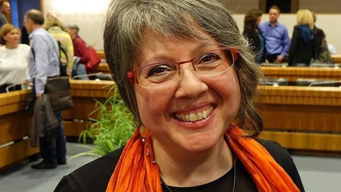Simone Coigny, Präsidentin VSO.