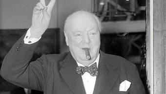 Der britische Ex-Premier Churchill (Archiv)