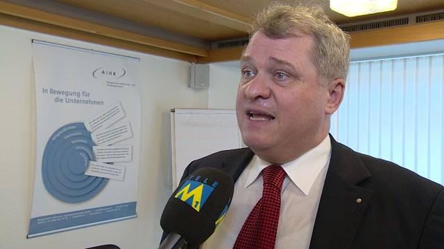 Daniel Knecht über die Aufhebung des Euro-Mindestkurses