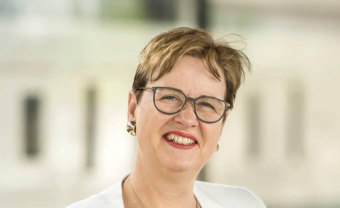 Edith Graf-Litscher, Präsident der nationalrätlichen Verkehrskommission und Gewerkschaftssekretärin beim SEV, der Gewerkschaft des  Verkehrspersonals.