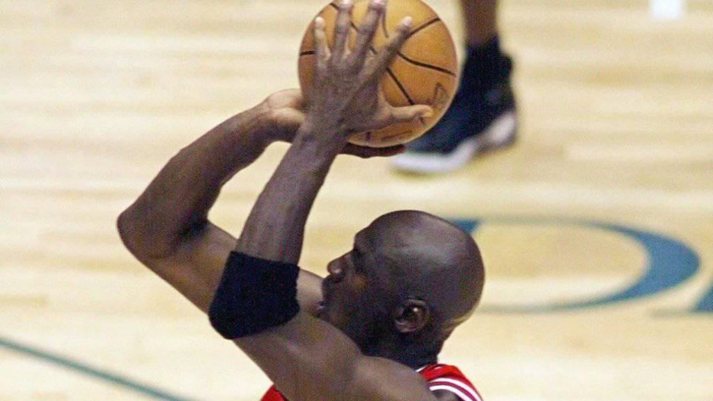 Seine Schuhe sind ein Vermögen wert: Basketball-Legende Michael Jordan