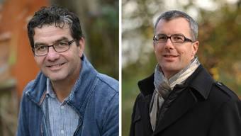 Für Liestal geht es in der Ersatzwahl vom 8.März um die künftige Ausrichtung des Stadtrats. (Links) Daniel Muri und (rechts) Thomas Eugster.