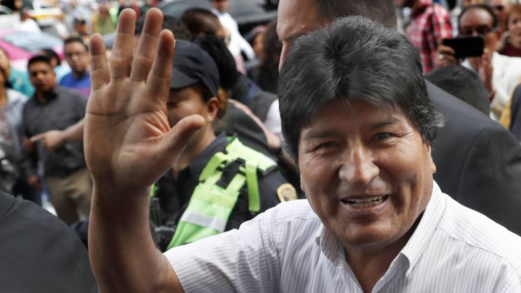 Morales: «Ich bin weiterhin Präsident»