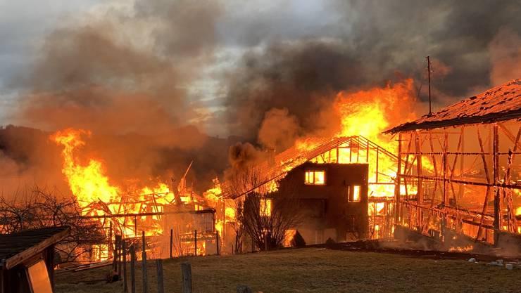 Die Bewohner konnten alle rechtzeitig evakuiert werden.