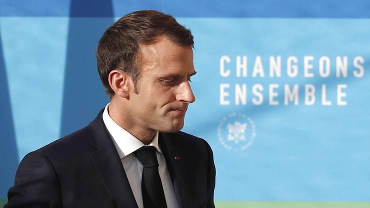 Frankreichs Präsident Emmanuel Macron erlebt massivsten Widerstand gegen seine Reformpläne.