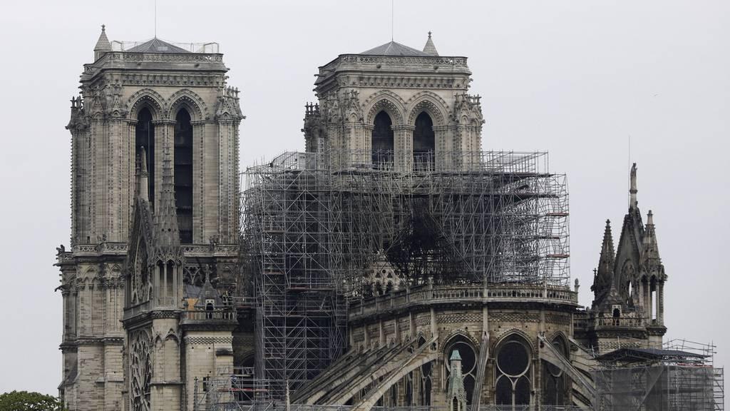 Notre-Dame ist auch jetzt noch ein Touristen-Magnet