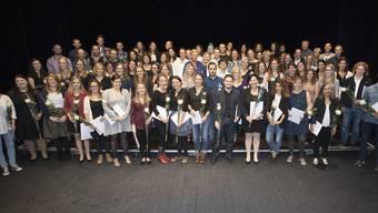 Vergabe der Bachelor- und Masterdiplome an der Hochschule für Soziale Arbeit FHNW in Olten und Basel