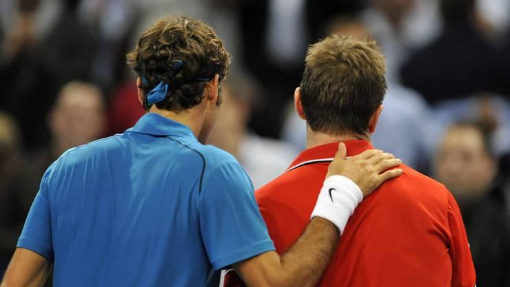 Federer, das Naturtalent und Wawrinka, der Kämpfer.