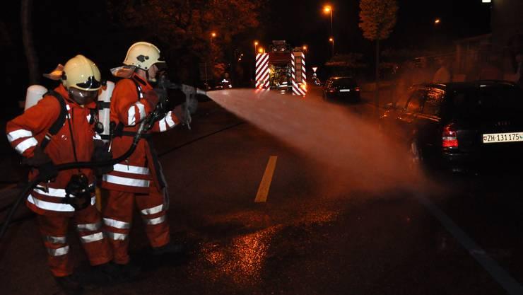 Hier übt die Feuerwehr Unterengstringen