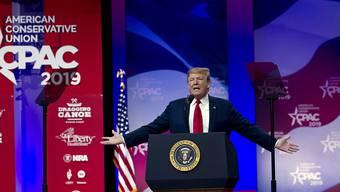 US-Präsident Trump schwört seine Anhänger bereits auf den Präsidentschaftswahlkampf 2020 ein.