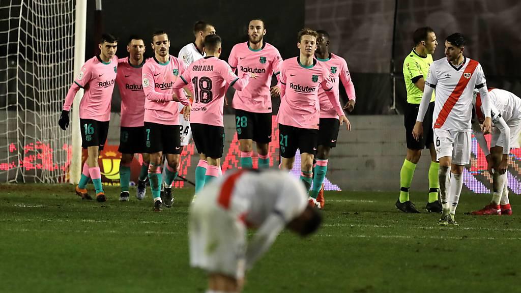 Barça im Cup erneut mit Mühe
