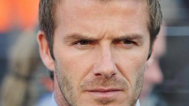 David Beckham kann Akzent nicht verbergen