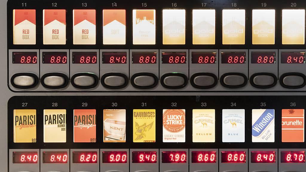 Auch Nationalrat will Umgang mit Tabakprodukten verschärfen