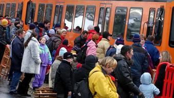 Täglich benutzen Tausende von Pendler die Uetlibergbahn.