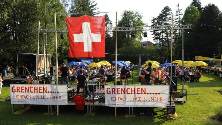 Grenchnen feierte den 1. August im Stadtpark