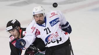 Die ZSC Lions, hier mit Patrik Bärtschi (71), haben im Cup-Achtelfinal gegen Fribourg-Gottéron das Nachsehen