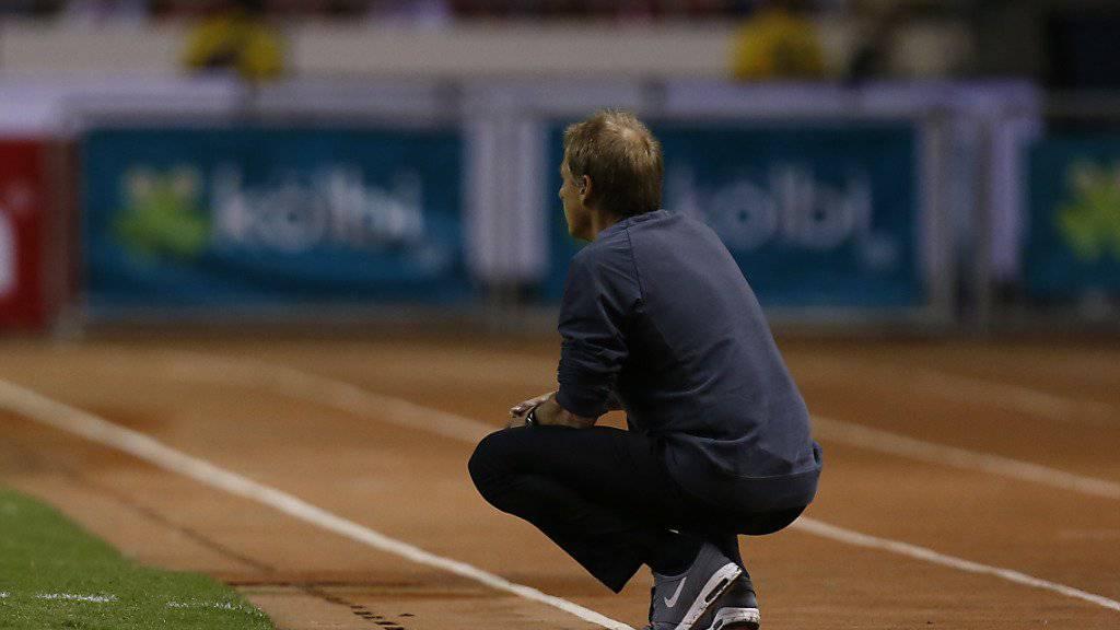 Jürgen Klinsmann ist mit den USA an einem neuen Tiefpunkt angelangt