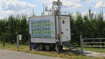 Die Luftreinhalte-Verordnung verlangt, dass die Kantone die Luftverunreinigung überwachen. Der Aargau macht dies in Aarau, Baden und Schupfart.