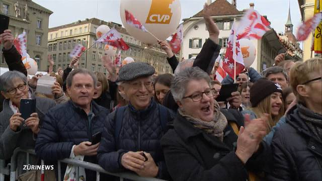 Anhänger feiern neue Bundesrätinnen