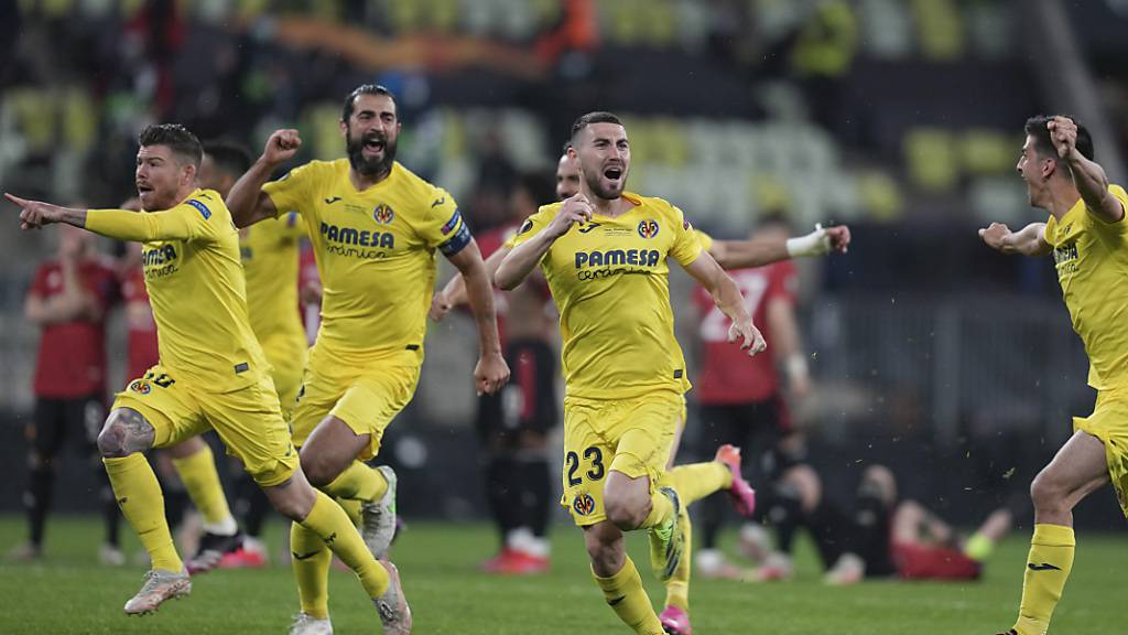 Villarreal gewinnt nach dem 22. Penalty seinen ersten grossen Titel