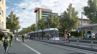 Der Limmattalbahn kommt im neuen Gesamtverkehrskonzept des Kantons Zürich eine wichtige Rolle zu.