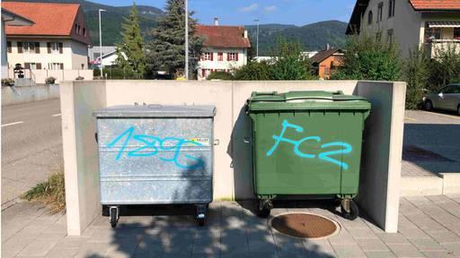 Polizei sucht im Gäu sprayenden FCZ-Fan
