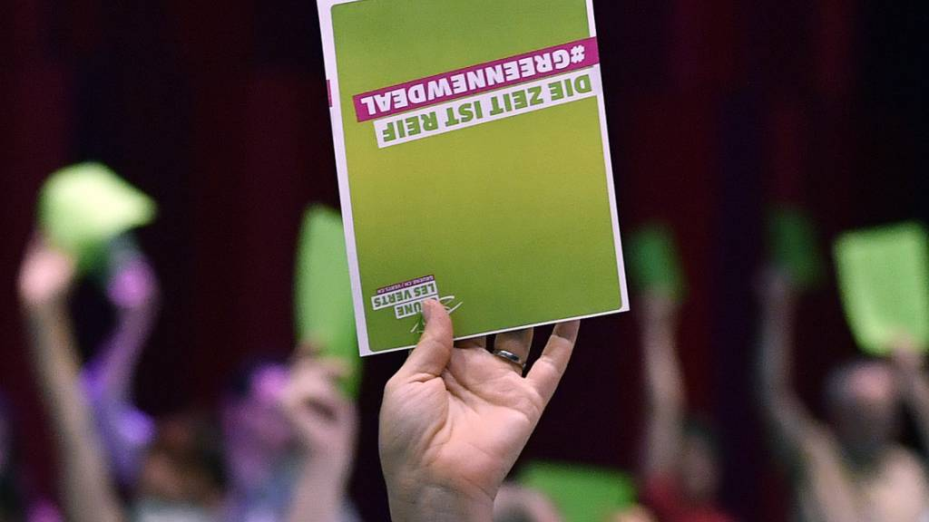 Die Delegieren der Grünen fassen am Samstag Parolen zu drei Eidgenössischen Vorlagen und beschäftigen sich schwergewichtig mit der Landwirtschafts- und Ernährungspolitik. (Archivbild)
