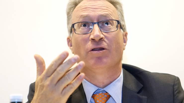 Der Chef der Genfer Privatbank Mirabaud, Yves Mirabaud, hat im ersten Halbjahr 2019 einen Rückschlag hinnehmen müssen. Sowohl die Erträge als auch der Gewinn seines Geldhauses lagen unter den Vorjahreswerten.