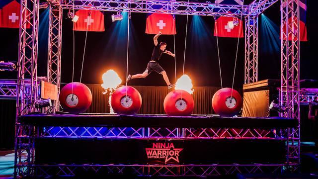 «Ninja Warrior Switzerland»: Mit diesem Lauf hat sich der Oftringer Sandro Scheibler für das Finale qualifiziert