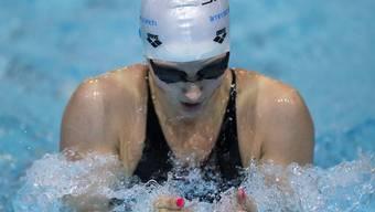 Lisa Mamié schwamm in Rom ihren dritten Schweizer Rekord