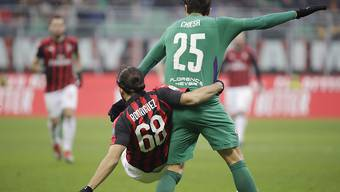 Ricardo Rodriguez und die AC Milan hatten gegen Fiorentina das Nachsehen
