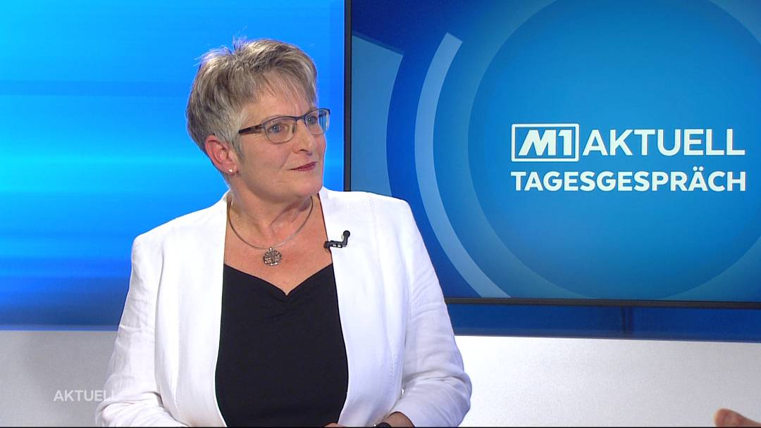 Das Tagesgespräch von TeleM1: Vreni Friker über das Notkommunikationskonzept Aargau