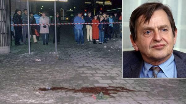 Der Tatort am frühen Morgen nach dem Mord an Olof Palme: Von der Polizei nur notdürftig abgesperrt, mehr oder weniger frei zugänglich.