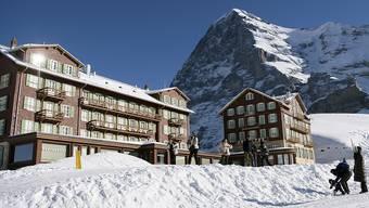Im Skigebiet der Kleinen Scheidegg (Bild) ereignete sich der Unfall. (Archivbild)