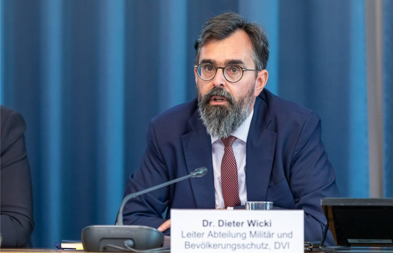 Dieter Wicki ist Chef des Kantonalen Führungsstabes.