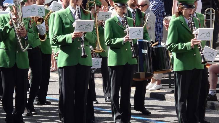 Die Klarinetten in Aktion