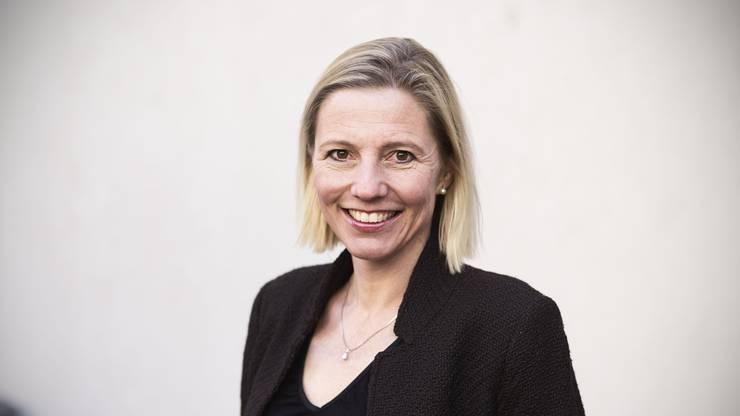 Will die FDP im Stadtrat von Aarau vertreten: Suzanne Marclay-Merz