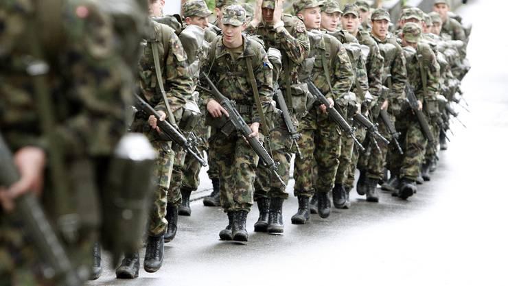 armee rekruten sturmgewehr armeewaffe rs rekrutenschule