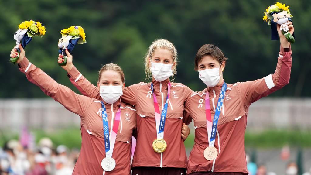 Dreifach-Sieg für die Schweiz im Mountainbike