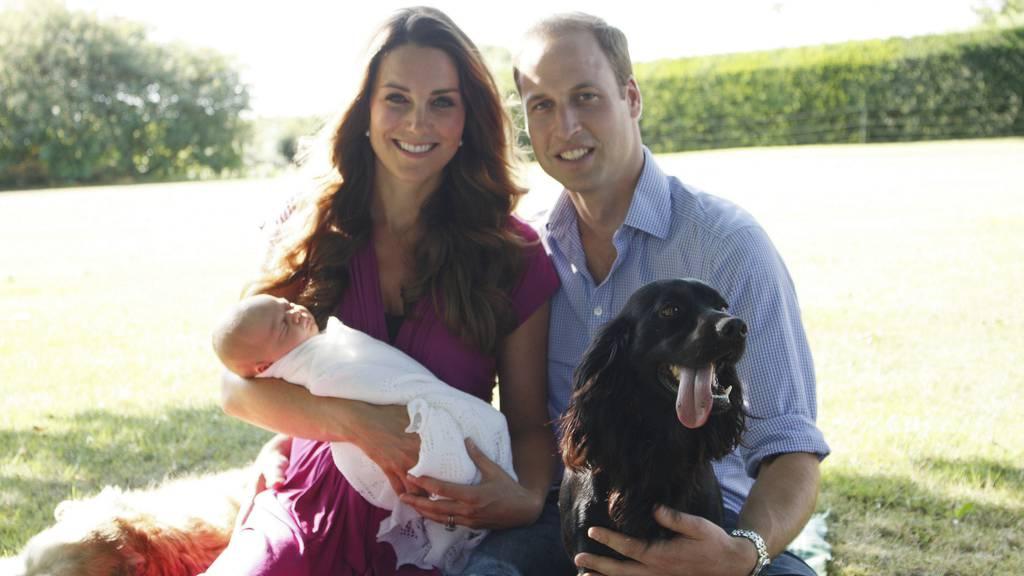 Royals trauern um ihren Hund «Lupo»