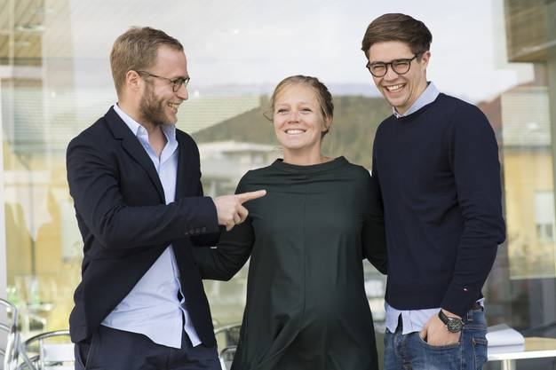 Florian, Anna und Michael Wanner