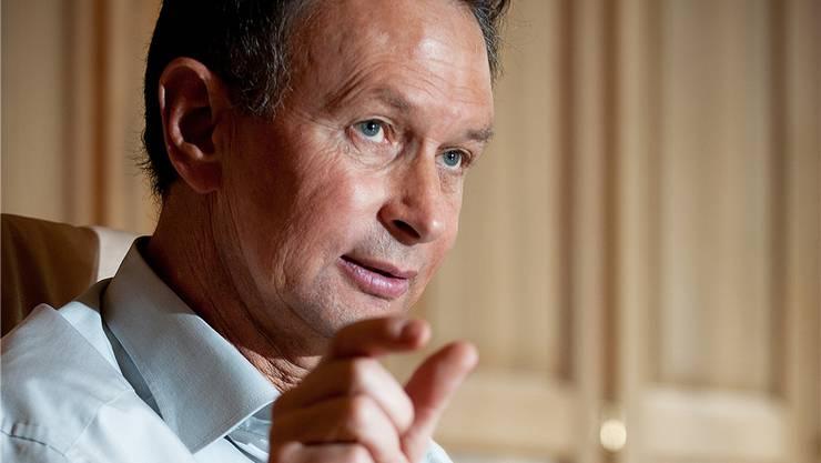 Der designierte FDP-Präsident Philipp Müller