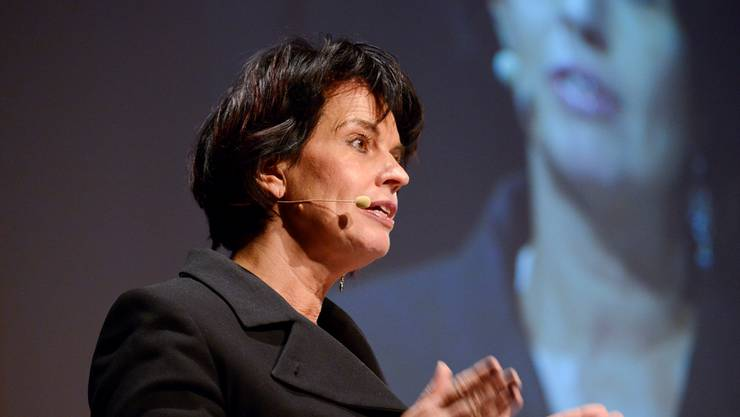 «Die Stossrichtung stimmt.» Die Energieministerin Doris Leuthard will die Schweiz in ein neues Energiezeitalter führen.