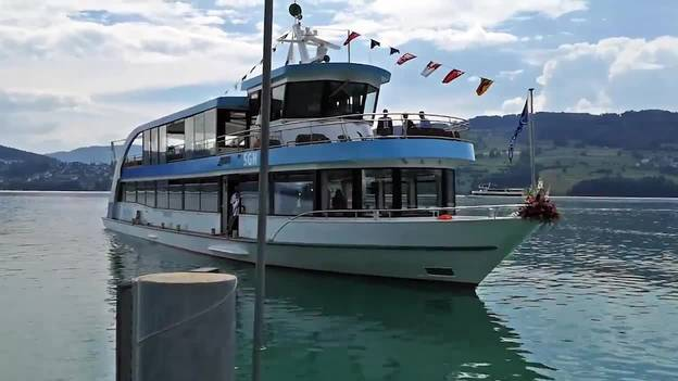 Das neue Hallwilerseeschiff heisst MS Delphin
