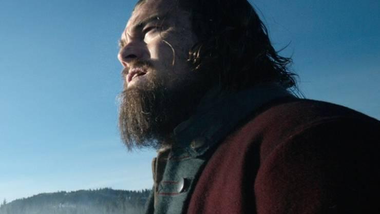 """In """"The Revenant"""" spielte Leonardo DiCaprio einen verwilderten Trapper, privat pflegte er den Bart aber sorgfältig (Archiv)."""